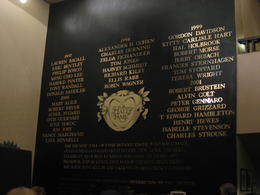 Hall of Fame in Gershwin Theatre , Diane G - October 2011