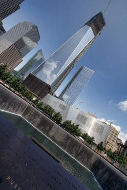 "The memorial & ""Freedom Tower"", Sherry Ott - August 2012"