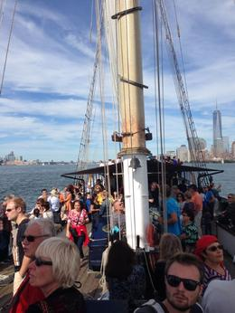 Photo of New York City Statue of Liberty Tall Ship Sailing Cruise A popular day to be out on the water