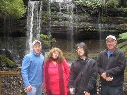 We loved the falls, was worth the walk and i will remember this always., Judith W - August 2010