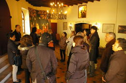 The start of the tour of the Chateau. Amazing wines. , o06980 - November 2011
