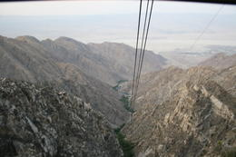 Photo of Palm Springs Palm Springs Aerial Tramway Descending