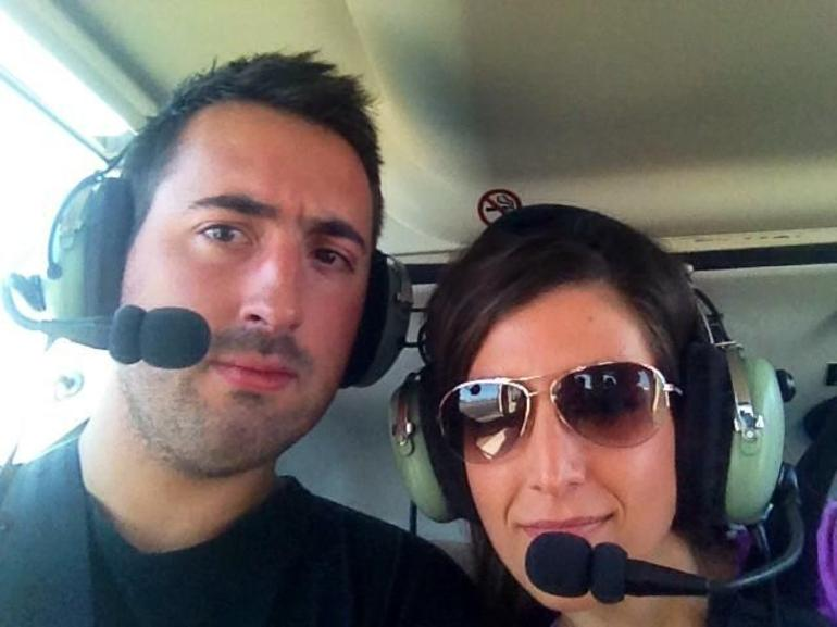 Heli selfie - Big Island of Hawaii