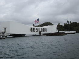 USS Arizona Memorial , Thurman - August 2012