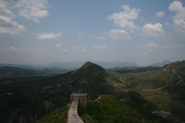 Beautiful day on the Great Wall - May 2012