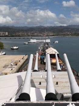 Battleship Missouri , Peter A - March 2015