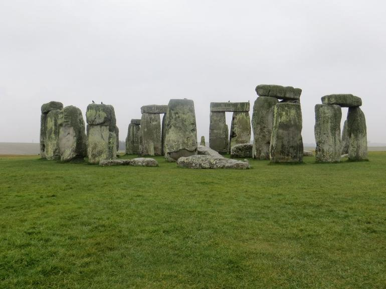 Misty afternoon at Stonehenge. - London