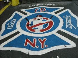 Photo of New York City New York TV and Movie Sites Tour Pavement outside Firehouse used in Ghostbusters