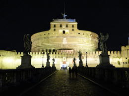 San Angelo's Castle at night. , Claudio G - October 2013