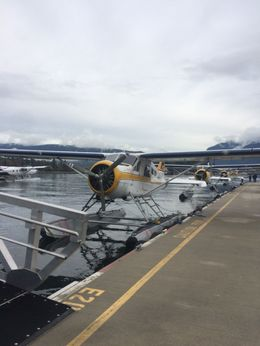 The seaplane we rode in on the tour, Katiemo - October 2015