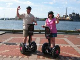 Photo of Maryland Baltimore Inner City Safari Segway Tour Segway at Fells Point