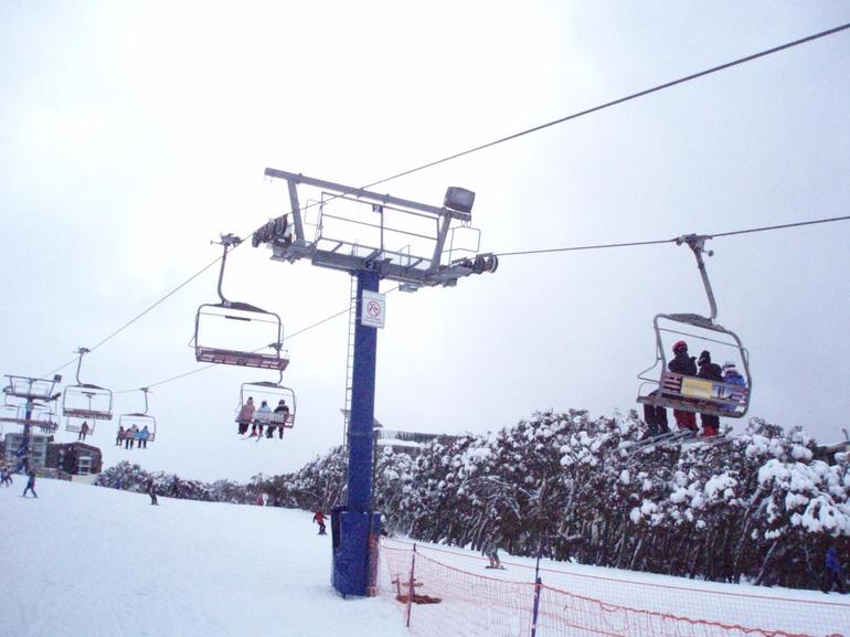 Skylift - ski tour Mt. Buller -
