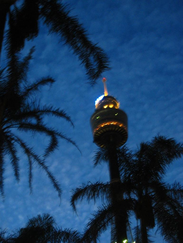 Sydney Tower By Night - Sydney