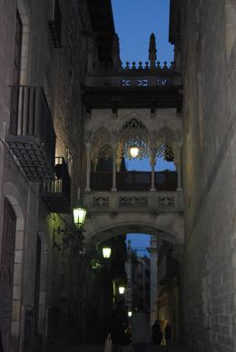 This bridge is a and quot;copy and quot; of the Bridge of Sighs located in the Gothic quarter of Barcelona. It is one of the interesting sights from our Walking tour. , Alan P - March 2011