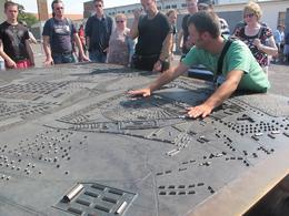Photo of Berlin Sachsenhausen Concentration Camp Memorial Walking Tour The plan of the camp