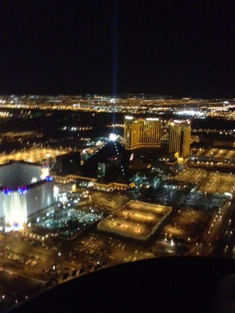 The real city of lights - Las Vegas