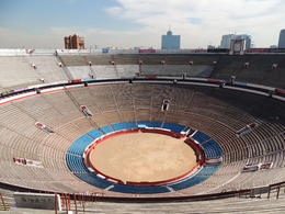 Bull fighting ring in Mexico City. , Kevin F - May 2013