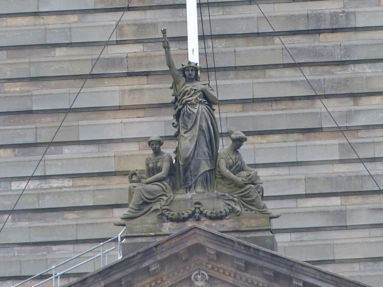 Top of City Chambers - Glasgow