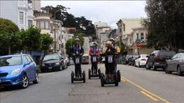 Photo of San Francisco San Francisco Waterfront Segway Tour Touring North Beah on a Segway, San Francisco