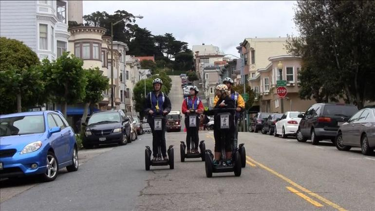 The San Francisco Waterfront Segway Tour brings you to North Beach.