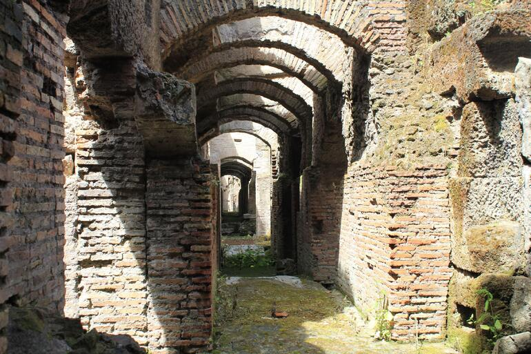 Under the arena - Colloseum - Rome