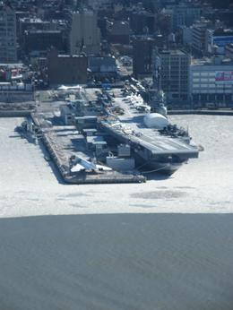 Photo of New York City Manhattan Sky Tour: New York Helicopter Flight AIRCRAFT CARRIER