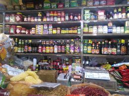 A market view of sauces. , eaglediva - June 2015