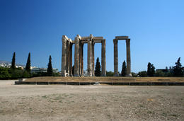 Temple of Zeus, Athens, Greece - May 2011