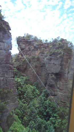 View going up back to Scenic World , Hdawg - January 2012
