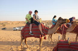 Photo of Dubai Luxury Desert Experience: Camel Safari with Dinner and Emirati Activities with Transport from Dubai Camel Safari