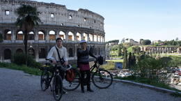 Photo of Rome Rome City Bike Tour Great view of the Colosseum