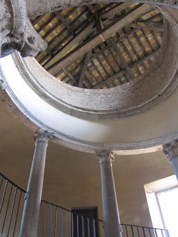 "Photo of Rome Viator VIP: Sistine Chapel Private Viewing and Small-Group Tour of the Vatican's Secret Rooms Bramante ""Staircase"""