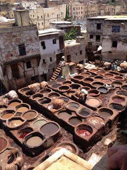 In the Fex Medina there was a traditional leather tannery. , silver_sparrow - August 2013
