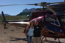 Photo of Las Vegas Grand Canyon All American Helicopter Tour Mike  and  Sheils in Grand Canyon