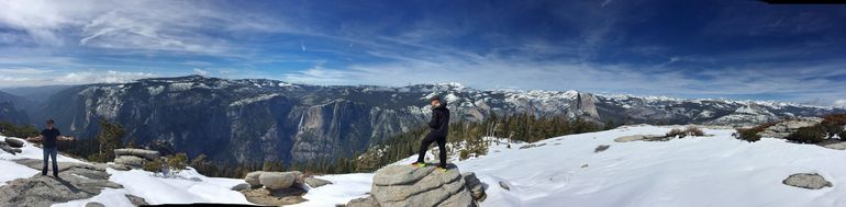 Panorama from Half Dome