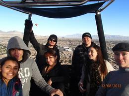 Photo of Las Vegas Las Vegas Sunrise Hot Air Balloon Ride Party in the air