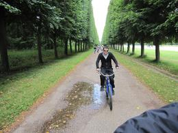 Photo of Paris Versailles by Bike Day Tour Path along Grand Canal