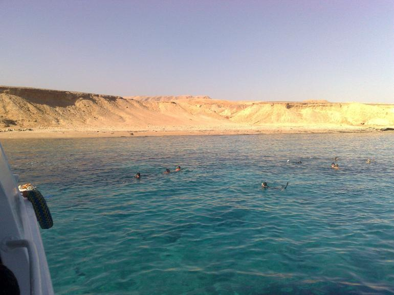 Ras Mohamed Red Sea Cruise & Snorkeling: me snorkeling... come in, the water is warm!