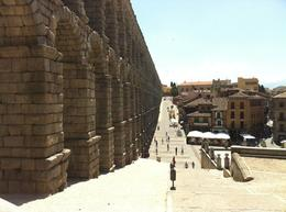 Photo of Madrid Avila and Segovia Day Trip from Madrid Segovia Aqueduct