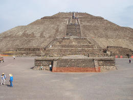 Photo of Mexico City Teotihuacan Pyramids and Shrine of Guadalupe Sun