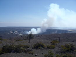 The view from the edge of the caldera , Alex C - February 2012