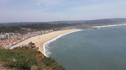 View of the Atlantic from Nazare , Mary-Ann - May 2015