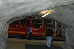 Photo of Lucerne Jungfraujoch Top of Europe Day Trip from Lucerne Train in Tunnel