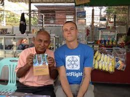 Meeting with a Tuol Sleng survivor., Cat - February 2013
