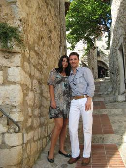 Rahela and I in Eze, September 2009, Dmitriy M - September 2009