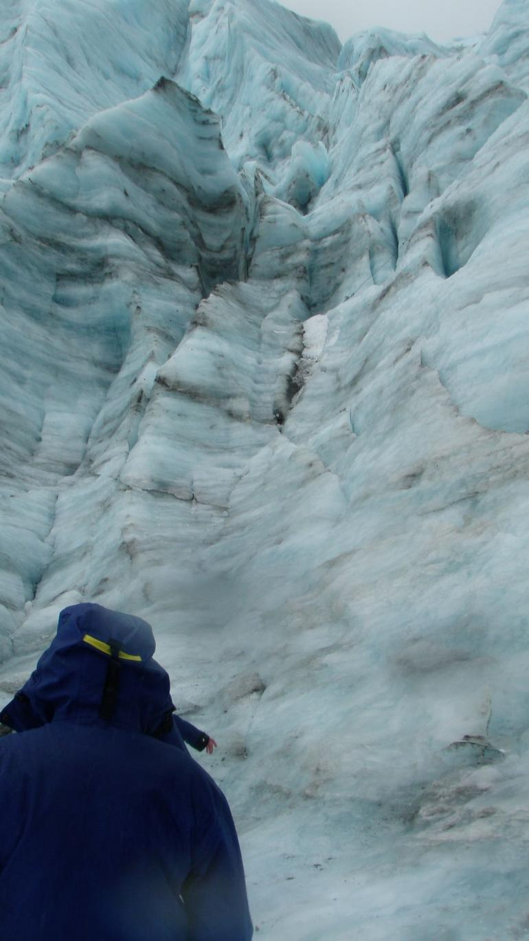 Wall of ice - Franz Josef & Fox Glacier