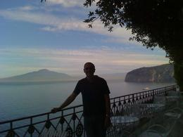 View iof Vesuvius from the Hotel Balcony, Christopher S - October 2010