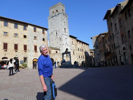 The beautiful piazza in San Gimignano , Ruth E - March 2015