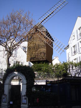 One of the moulin in Paris found in Montmartre, Emily - March 2013