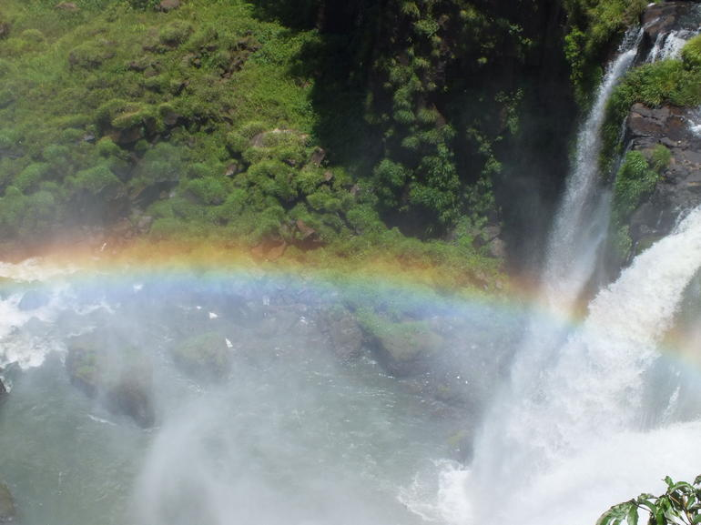 falls' rainbow - Foz do Iguacu